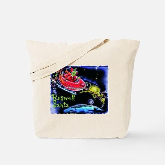 Roswell Santa Tote Bag