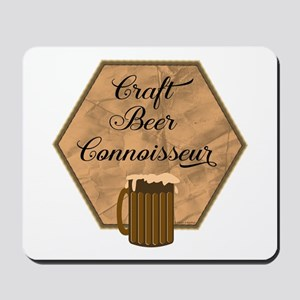 Craft Beer Connoisseur Mousepad