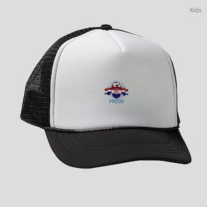 Football Croats Croatia Soccer Te Kids Trucker hat