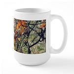 Large Mug - Orange Leaves Mixed