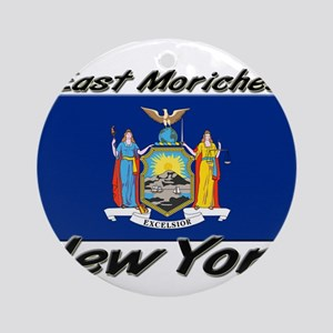 East Moriches New York Ornament (Round)
