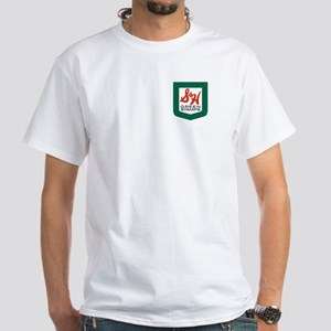 2-sided S&H White T-Shirt