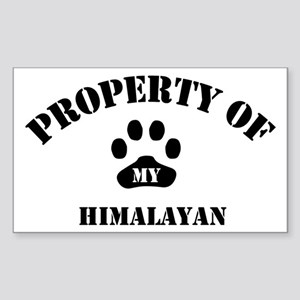 My Himalayan Rectangle Sticker