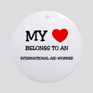 My Heart Belongs To An INTERNATIONAL AID WORKER Or