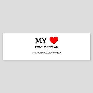 My Heart Belongs To An INTERNATIONAL AID WORKER St