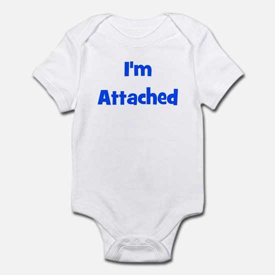 I'm Attached - Multiple Color Infant Creeper