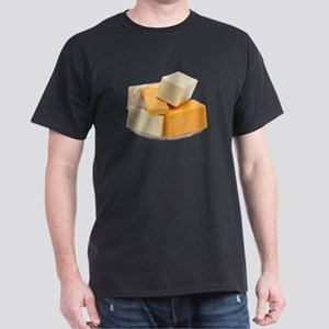 Some Cheese On Your Black T-Shirt
