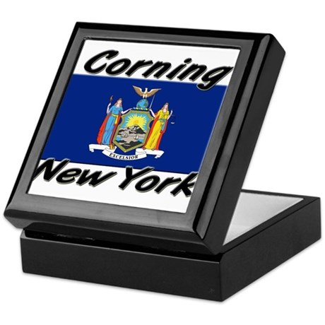 Corning New York Keepsake Box