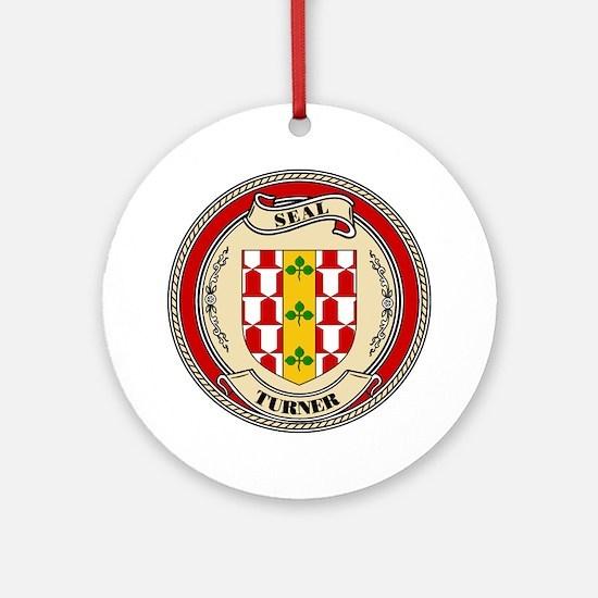 Seal - Turner Ornament (Round)