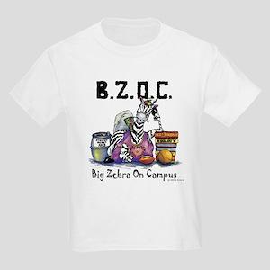 Big Zebra on Campus Kids Light T-Shirt