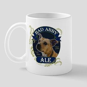 Bad Abby Pit Bull Ale Mug