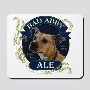 Bad Abby Pit Bull Ale Mousepad