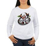 Evil Clown Women's Long Sleeve T-Shirt