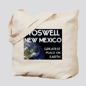 roswell new mexico - greatest place on earth Tote