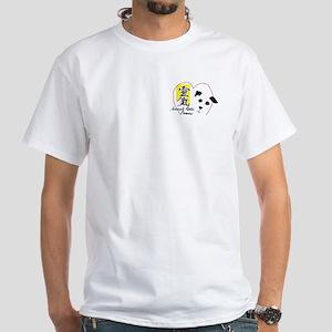 AnimalReikiPhoenix Dog White T-Shirt
