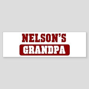 Nelsons Grandpa Bumper Sticker