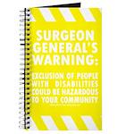 Exclusion Warning Journal