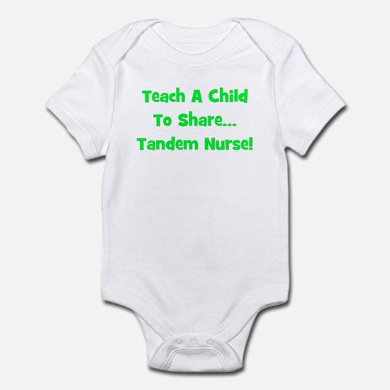 Tandem Nurse - Multiple Color Infant Creeper