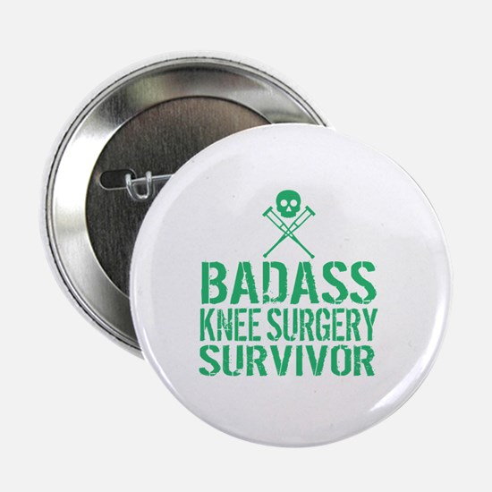 "Cute Knee surgery 2.25"" Button"
