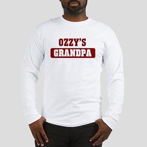Ozzys Grandpa Long Sleeve T-Shirt