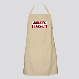 Janaes Grandpa BBQ Apron