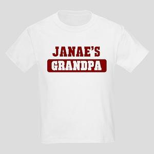 Janaes Grandpa Kids Light T-Shirt