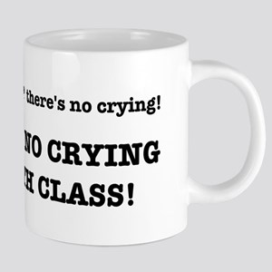 There's No Crying in Math C 20 oz Ceramic Mega Mug
