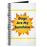 Dogs are My Sunshine Journal