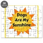 Dogs are My Sunshine Puzzle