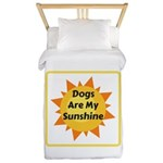 Dogs are My Sunshine Twin Duvet Cover