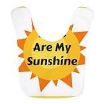 Dogs are My Sunshine Polyester Baby Bib
