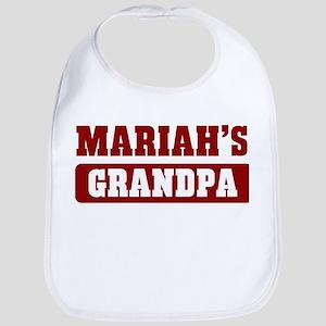 Mariahs Grandpa Bib