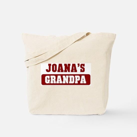 Joanas Grandpa Tote Bag