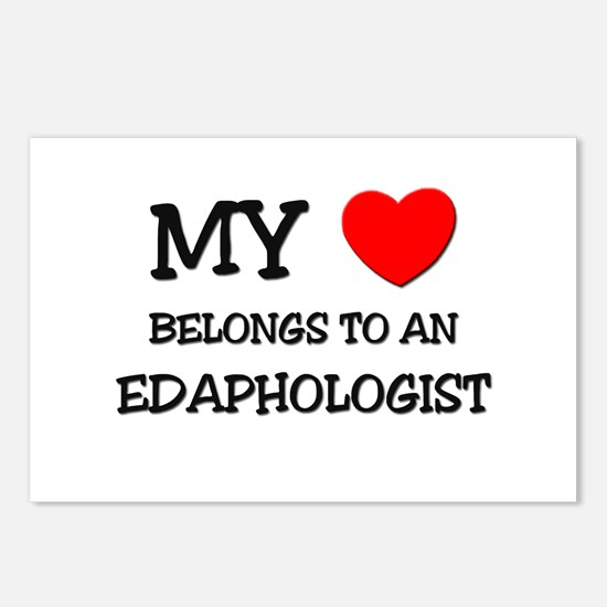 My Heart Belongs To An EDAPHOLOGIST Postcards (Pac