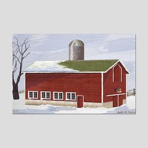Country Barn Mini Poster Print