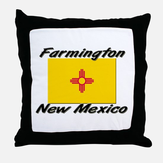 Farmington New Mexico Throw Pillow