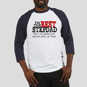 Best Stepfather Baseball Jersey