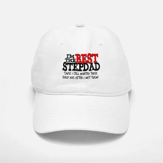 Best Stepfather Baseball Baseball Cap