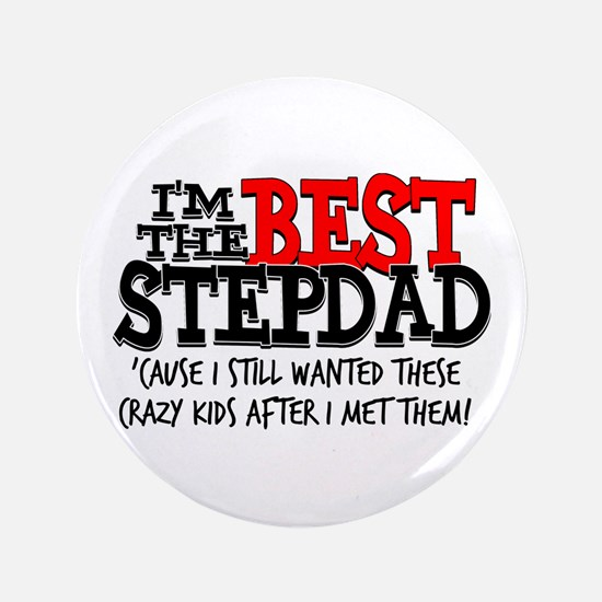 "Best Stepfather 3.5"" Button"