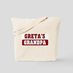 Gretas Grandpa Tote Bag
