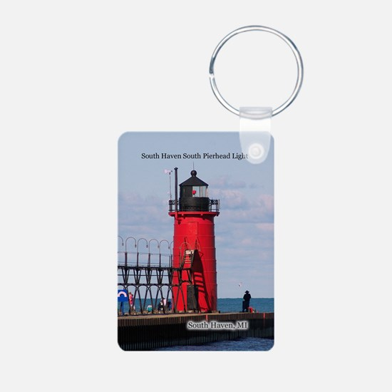 South Haven Pierhead Light Keychains