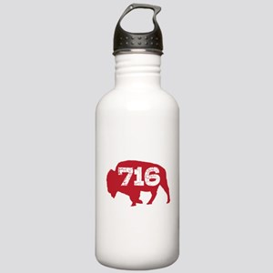716 Buffalo Area Code Stainless Water Bottle 1.0L