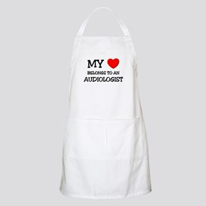 My Heart Belongs To An AUDIOLOGIST BBQ Apron