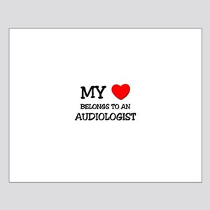 My Heart Belongs To An AUDIOLOGIST Small Poster