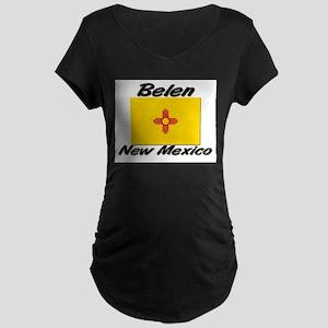 Belen New Mexico Maternity Dark T-Shirt