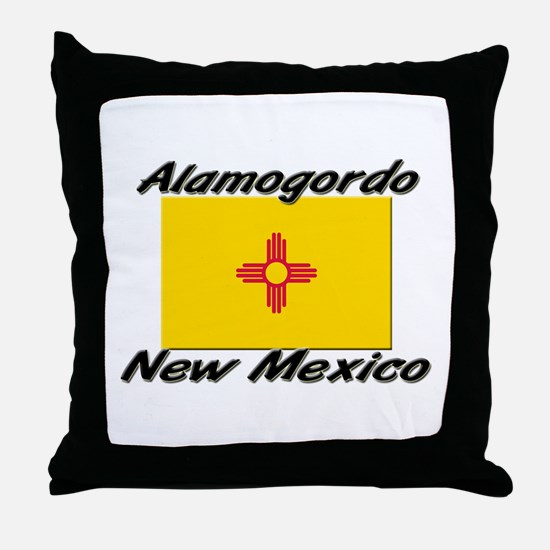 Alamogordo New Mexico Throw Pillow