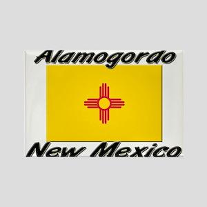 Alamogordo New Mexico Rectangle Magnet