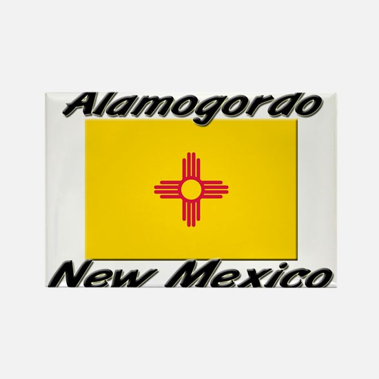 Alamogordo New Mexico Rectangle Magnet