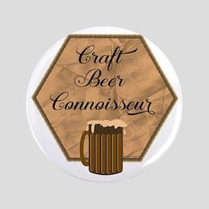Craft Beer Connoisseur Button