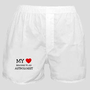 My Heart Belongs To An ASTROLOGIST Boxer Shorts